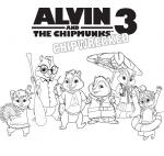 Alvin Und Die Chipmunks Malvorlagen Zeichentrickfiguren