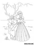 Die Eiskonigin Vollig Unverfroren Malvorlagen Zeichentrickfiguren