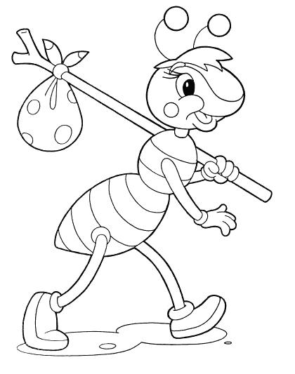 Ameise Ausmalbilder Ameise