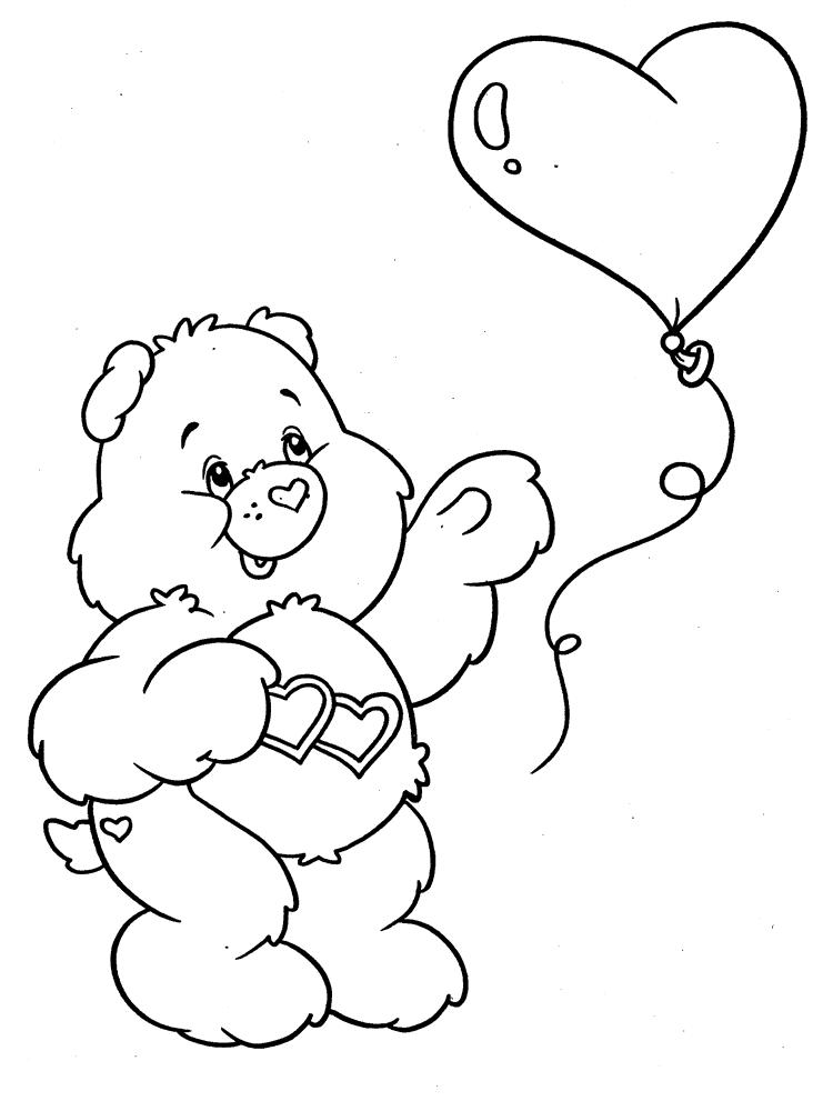 ausmalbilder für kinder schmusebärchi