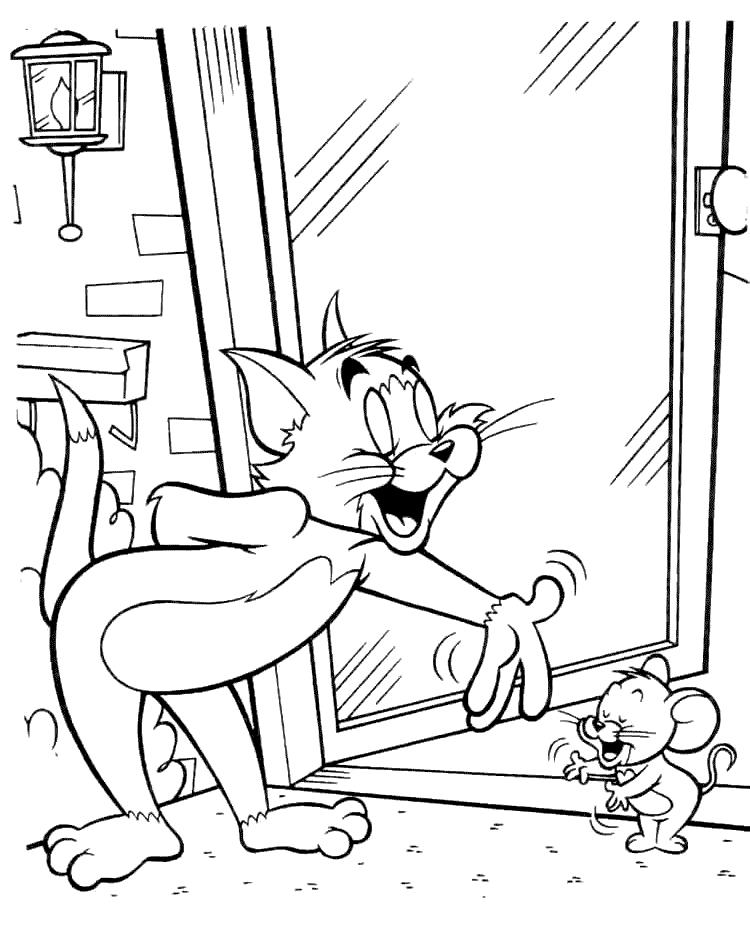 Tom Und Jerry Ausmalbilder