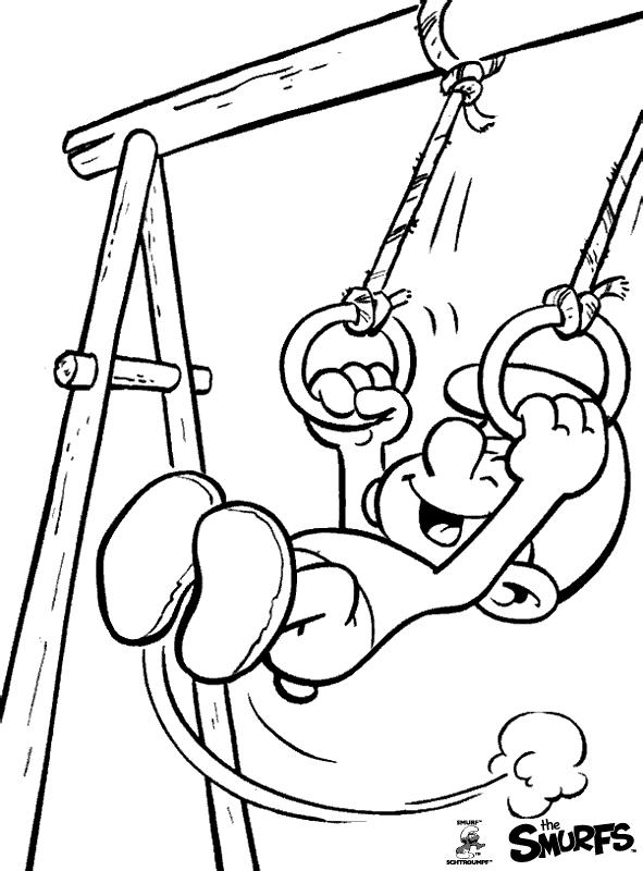 Ausmalbilder Für Kinder Schlumpf