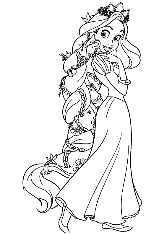 Rapunzel Malvorlagen Directtaxizwolle