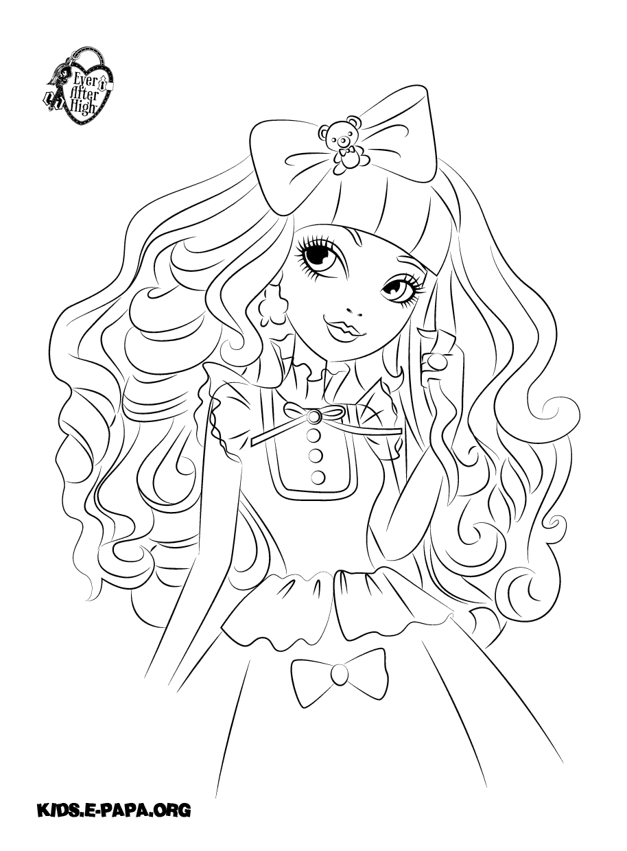 Liv Maddie Coloring Page