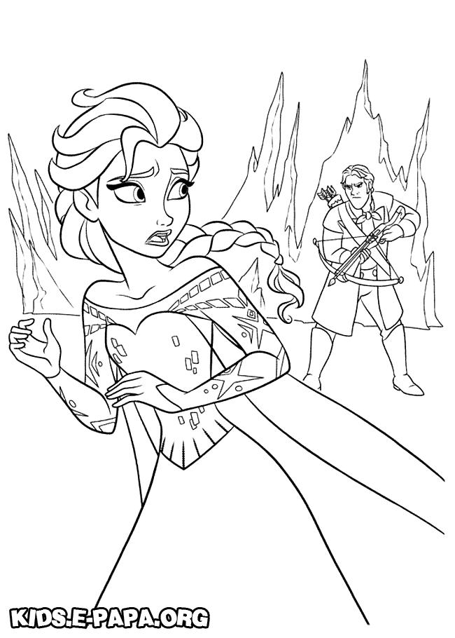 Elsa ausmalbilder die eiskönigin – völlig unverfroren