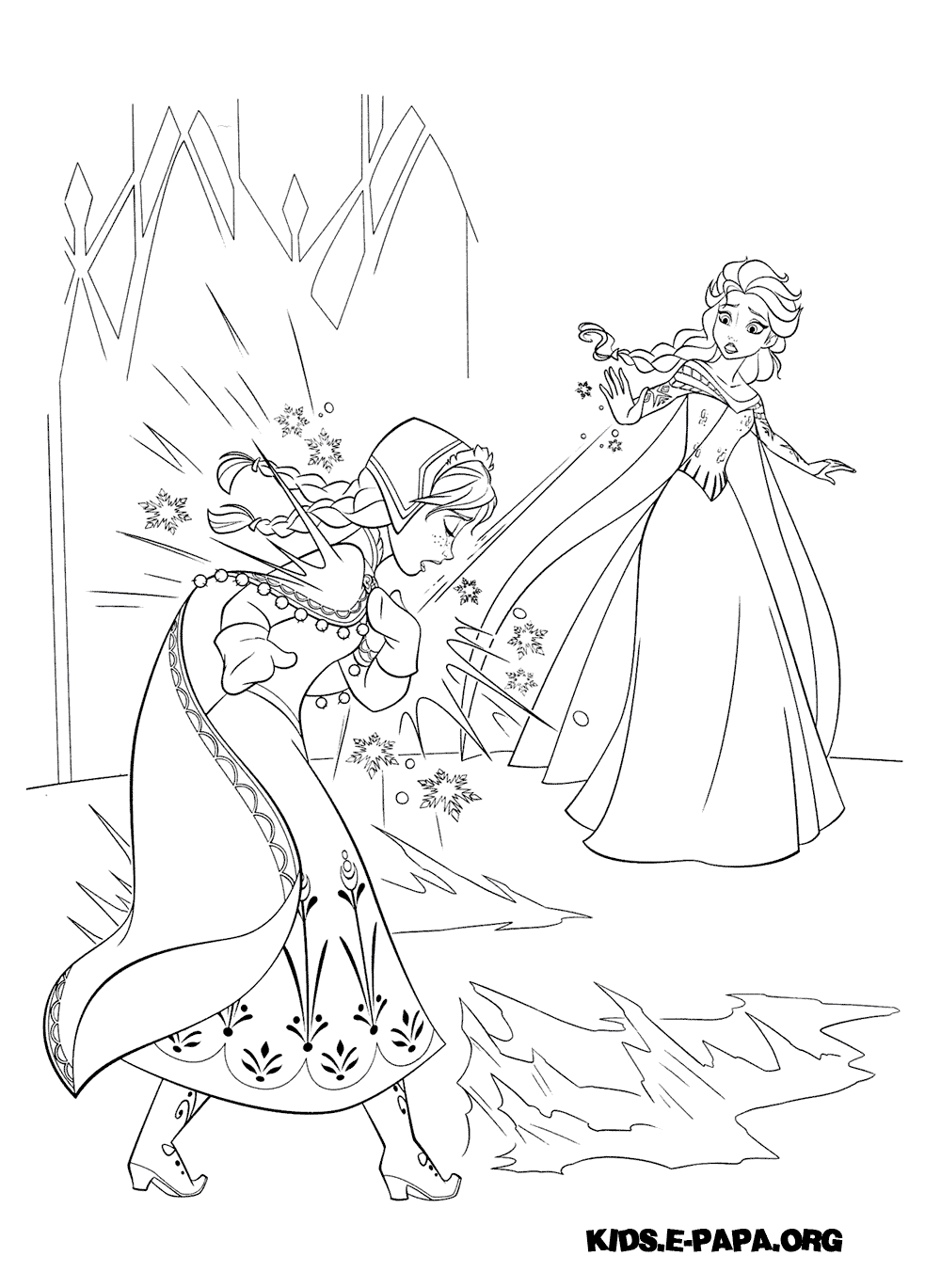 HD wallpapers frozen fever coloring pages