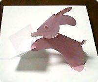 Postkarten Hase